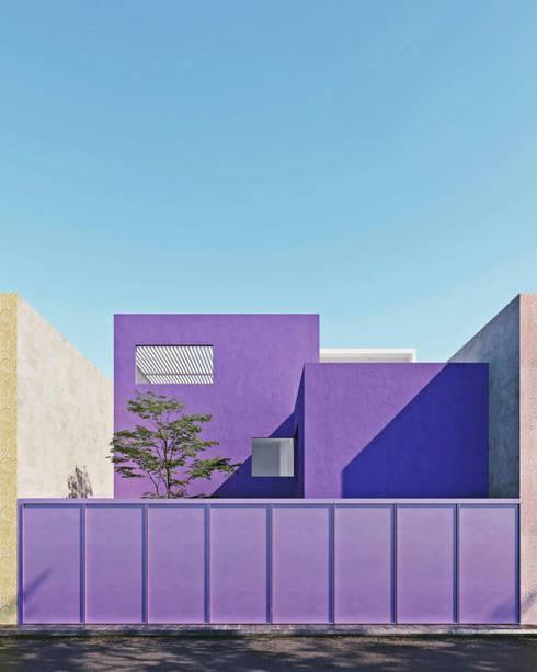 CASA G - GUADALAJARA JALISCO, MEXICO.: Casas unifamiliares de estilo  por Obed Clemente Arquitecto