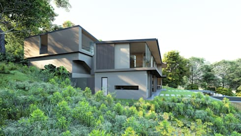 197 PLUMBAGO:  Single family home by CA Architects