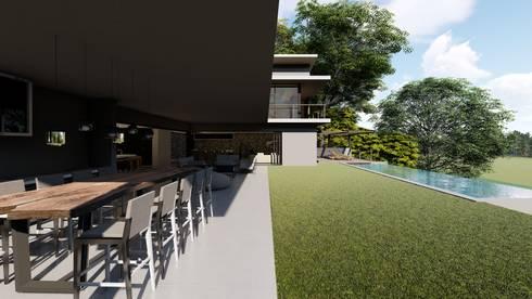 38 SAGILA:  Patios by CA Architects