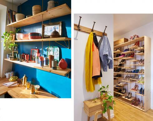 Renovation Levallois Perret:  de style  par Unlimited Design Lab