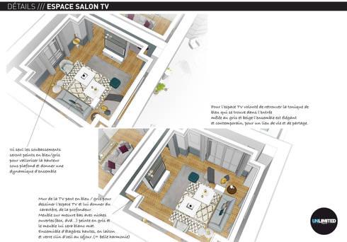 REUIL MALMAISON WORK IN PROGRESS:  de style  par Unlimited Design Lab