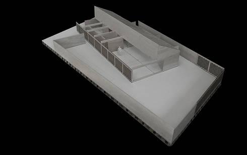 Maqueta: Casas de estilo rural por mutarestudio Arquitectura