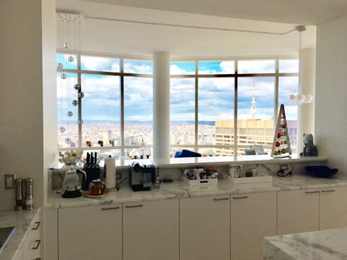 Remodelacion Cocina: Cocinas de estilo ecléctico por Studio ARI