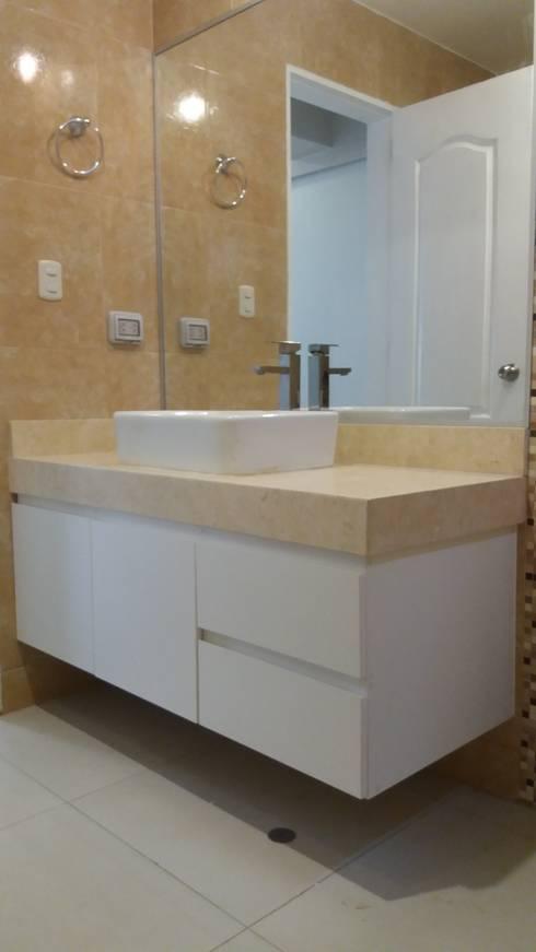 Muebles De Baño - Surco: Baños de estilo moderno por MARSHEL DUART SRL