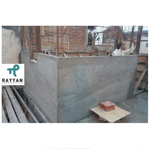 Design and Build Instant Concrete House:  Kamar Tidur by Eco-House Indonesia