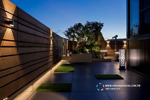 實踐簡約的起居計畫:  露臺 by 大地工房景觀公司
