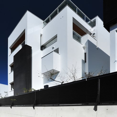 建築設計 白居 LH House:  獨棟房 by 黃耀德建築師事務所  Adermark Design Studio