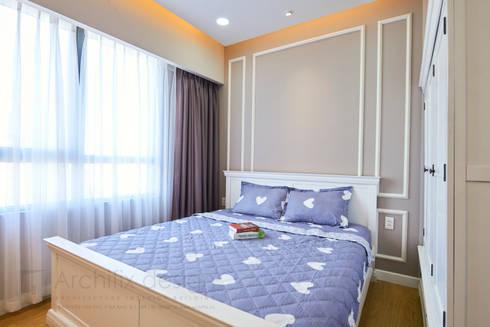 Căn hộ Masteri:  Phòng ngủ by Archifix Design