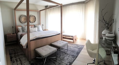 St Francis: modern Bedroom by ByDezign Interiors