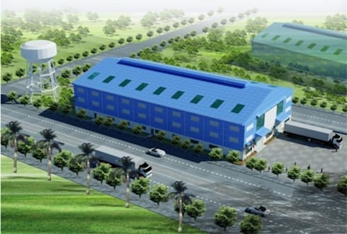 Thiết kế Nhà xưởng công nghiệp WOODPELLET:   by Công Ty TNHH Phát Triển Dự Án Song Nam