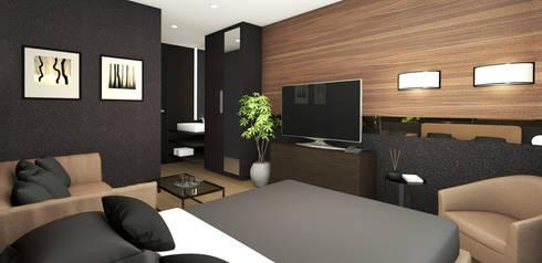 classic Bedroom by Studio Maiden