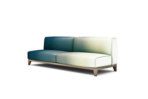 minimalistic Living room by Studio Maiden