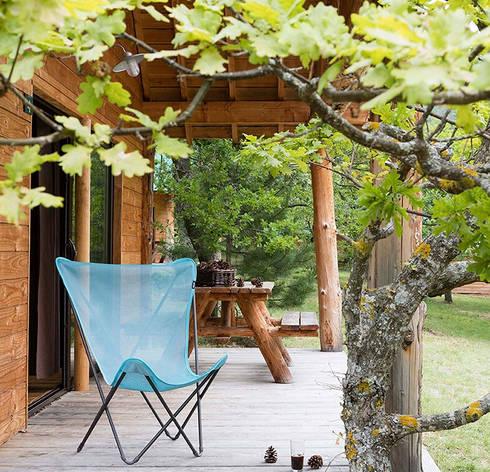 Iso Lac 可折疊高背休閑椅:  室內景觀 by 北京恒邦信大国际贸易有限公司