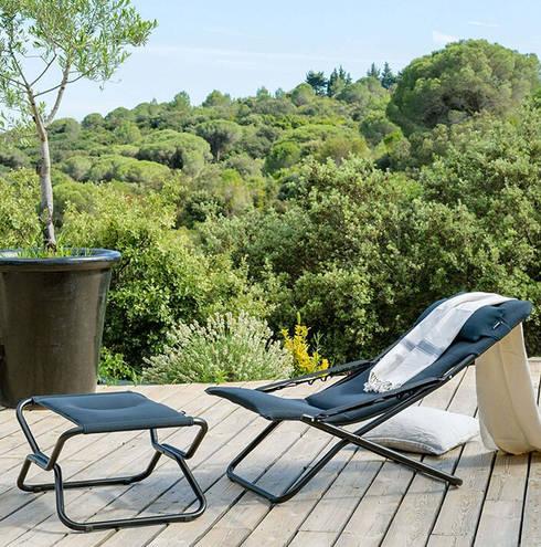Acier 可折疊腳蹬 坐凳:  室內景觀 by 北京恒邦信大国际贸易有限公司
