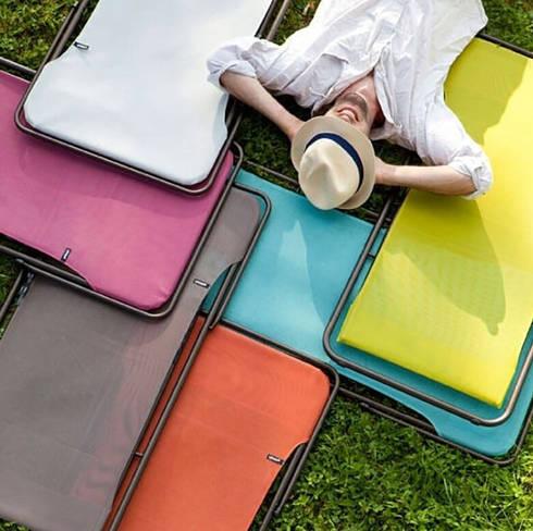 珊瑚藍可折疊休閑椅:  書房/辦公室 by 北京恒邦信大国际贸易有限公司
