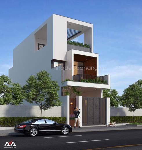 Thiết kế nhà phố đẹp tại Đà Nẵng:  Nhà by AVA Architecture