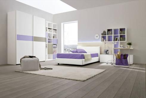 Mobiliario para dormitorios: Recámaras de estilo  por BMAA