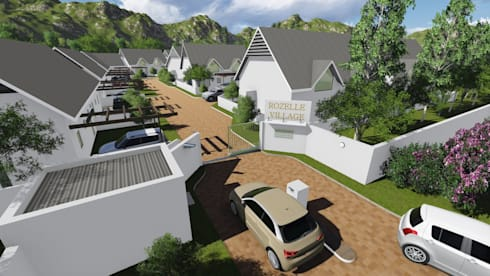 Rozella Village Cape Town:   by A&L 3D Specialists