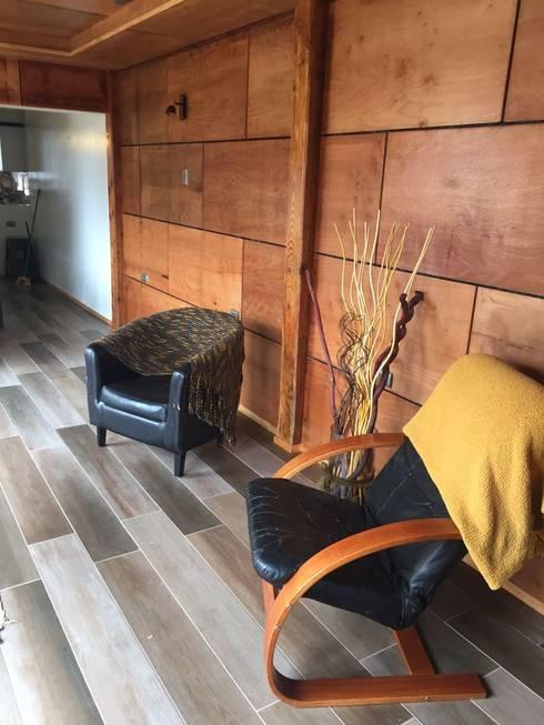 Ampliación de Casa MG Jardín en Puerto Montt por CIVCO : Livings de estilo  por Civco Ltda