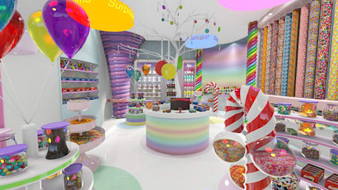 Candy Store JHB:  Commercial Spaces by A&L 3D Specialists