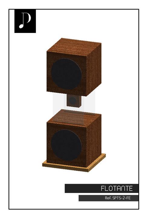 Diseño renderizado:  de estilo  por Design Hifi Sound