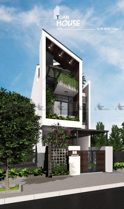 TUẤN HOUSE:  Nhà by AE STUDIO DESIGN