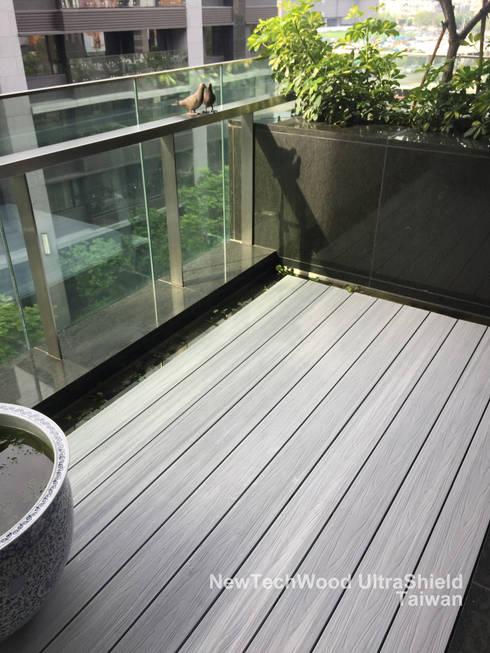 北投奇岩重劃區—陽台地板工程:   by 新綠境實業有限公司