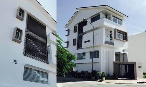 kiến trúc hiện đại:   by CÔNG TY THIẾT KẾ NHÀ ĐẸP SANG TRỌNG
