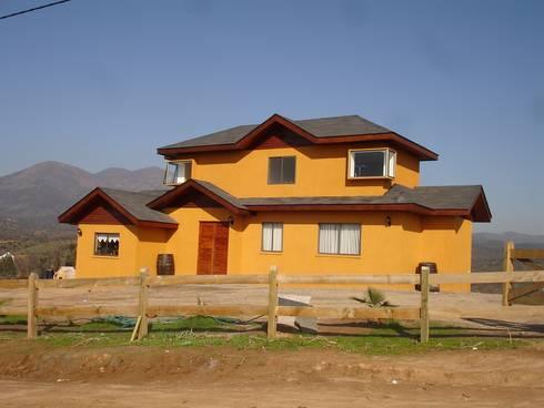 VIVIENDA BELMAR: Casas unifamiliares de estilo  por ARKITEKTURA