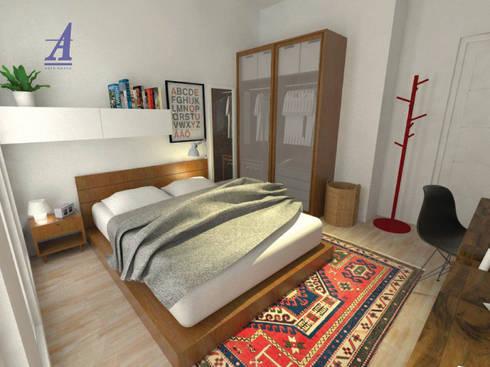 GRAND WISATA - BEKASI, INDONESIA:  Bedroom by Asta Karya Studio