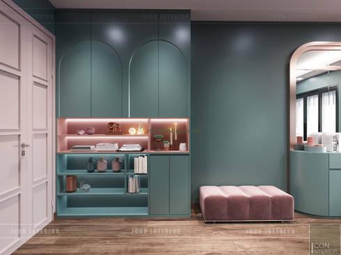 Đẹp Khác Biệt với Thiết kế căn hộ Landmark 81 của ICON INTERIOR:  Cửa ra vào by ICON INTERIOR