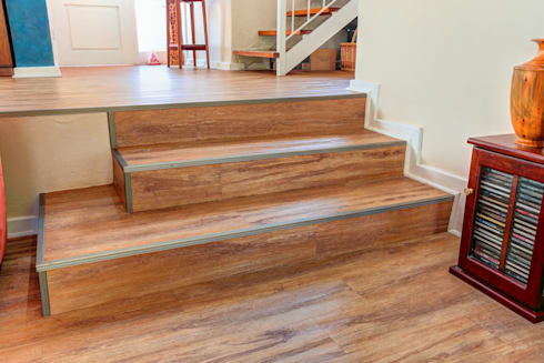 Residential Project, Northcliff:  Stairs by Wanabiwood Flooring