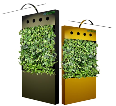 AIRGROW Models and Specification | vertical garden planters in India:  Walls & flooring by Air-Grow
