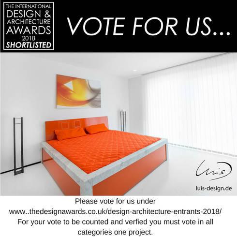 modern Bedroom by Luis Design