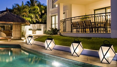 Outdoor Home Lighting Installation:   by Best Electricians Joburg