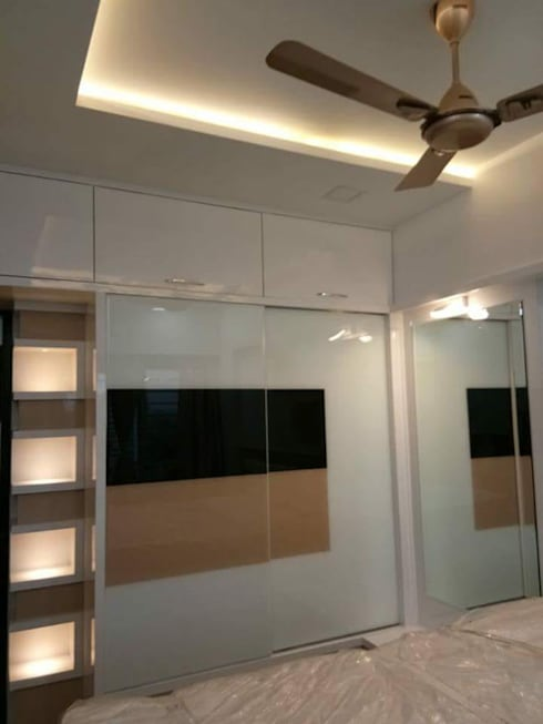 Mr Gaurao Thakare: modern Bedroom by HOMEDIGILAND SERVICES PRIVATE LIMITED
