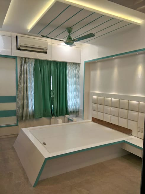 Mr Gaurao Thakare:  Bedroom by HOMEDIGILAND SERVICES PRIVATE LIMITED