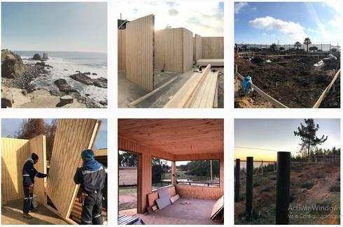 Arquitectura – Bocetos – Esquemas – Proyectos – Construccion:  de estilo  por Loberia Arquitectura