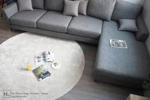 客  廳 / Living room:  客廳 by SECONDstudio
