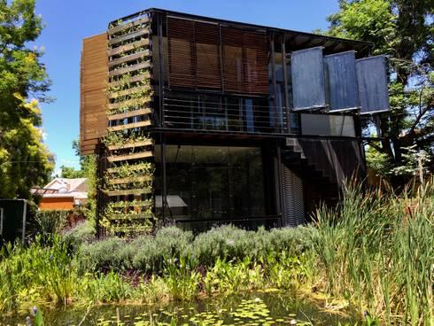HouseZero - Modular building systems for premium off-grid homes:  Passive house by HouseZero