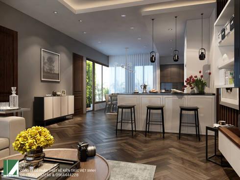NỘI THẤT CHUNG CƯ 05 :   by công ty cổ phần Thiết kế Kiến trúc Việt Xanh