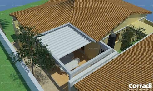 Pergotenda® Maestro - by Corradi Outdoor Living Space :  Patios by Corradi Outdoor Living Space