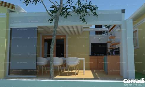 Pergotenda® B-Space - by Corradi Outdoor Living Space :  Patios by Corradi Outdoor Living Space