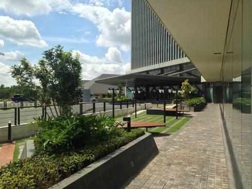 Radisson Hotel Terrace:   by KAD Firma Arsitektur