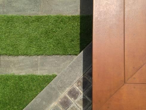 Grass & Tiles Pattern:   by KAD Firma Arsitektur