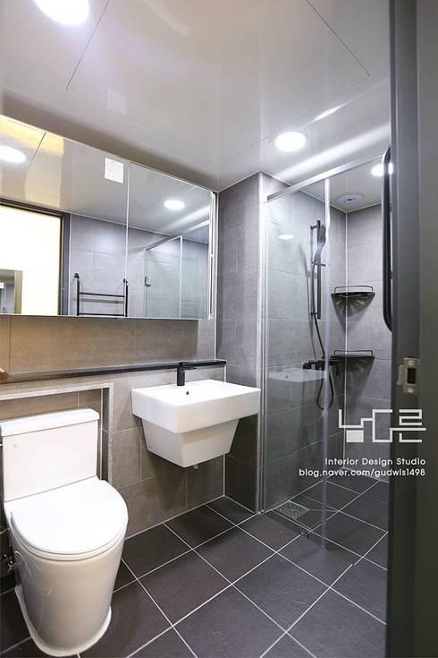 수성e편한세상 45평: 남다른디자인의  욕실