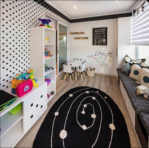 Children's Bedrooms : eclectic Nursery/kid's room by Spegash Interiors