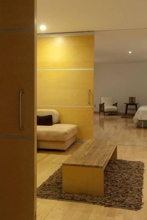Casa ZR: Salas de estilo moderno por TaAG Arquitectura