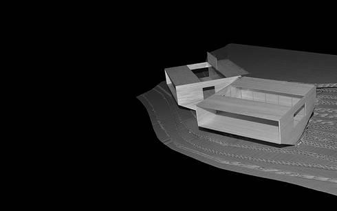 Maqueta: Casas de estilo moderno por mutarestudio Arquitectura