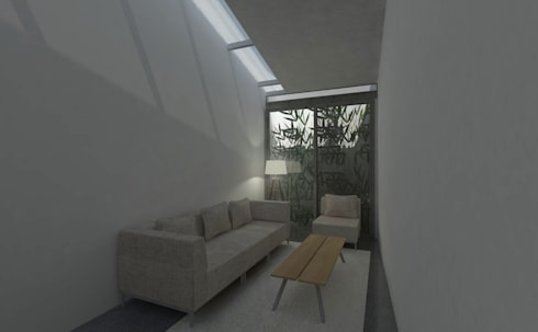 Living room:   by studio moyn